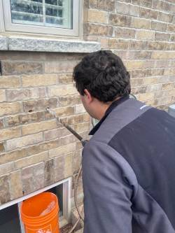 Installing a Cold and Hot outdoor faucet